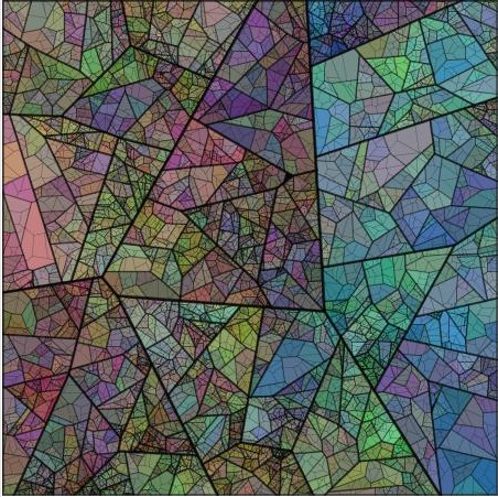 voronoi-fractal