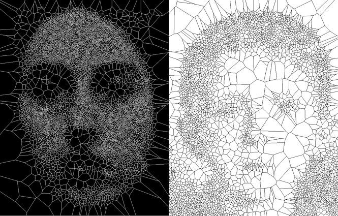 Voronoi Art Onionesque Reality