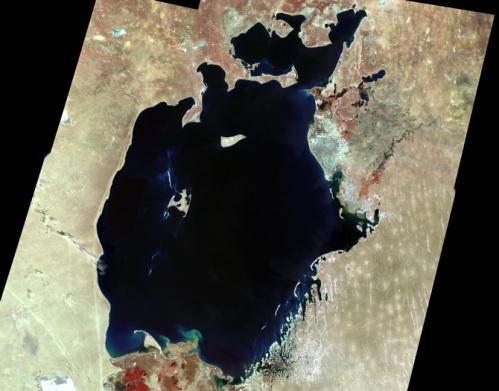 Aral Sea - 1973
