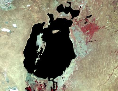 Aral Sea - 1987