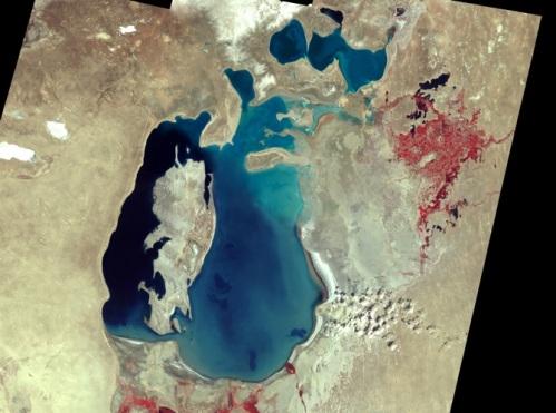 Aral Sea - 1999