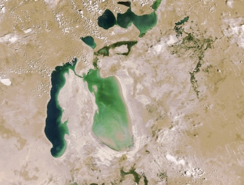 Aral Sea - 2006