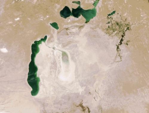 Aral Sea - 2009